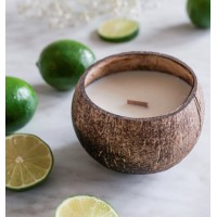Luxury Coconut Candle - LIME scent