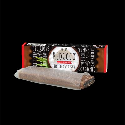 REDCOCO BIO kokosová tyčinka- COCOA 40g